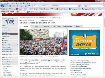 sitio web BBC News-fidelvasquez