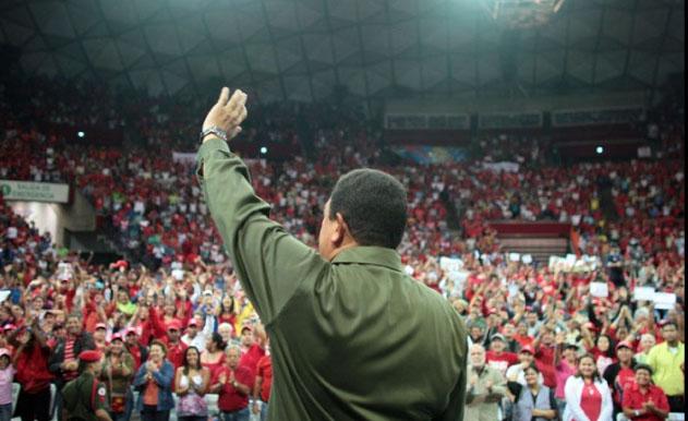 hugochavezenelpoliedro-Fidel Ernesto Vásquez