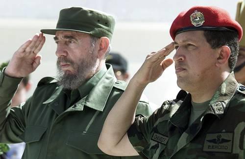 fidel castro- hugo chavez- Fidel Ernesto Vasquez