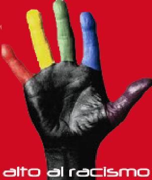no  al racismo-Fidel ernesto Vasquez