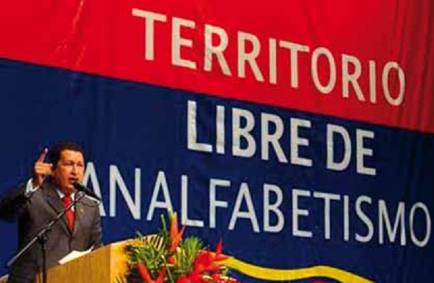 Venezuela Territorio Libre de Analfabetismo-2-Fidel Ernesto Vasquez
