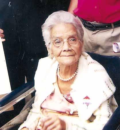 Madre de Victor Ramon y Fernando Soto Rojas