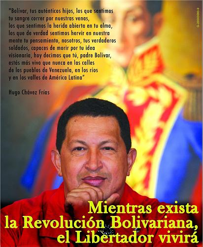 Presidente Hugo Rafael Chavez Frias-Fidel Ernesto Vasquez