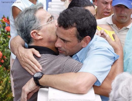 Alvaro Uribe y Capriles Radonski-Fidel Ernesto Vasquez