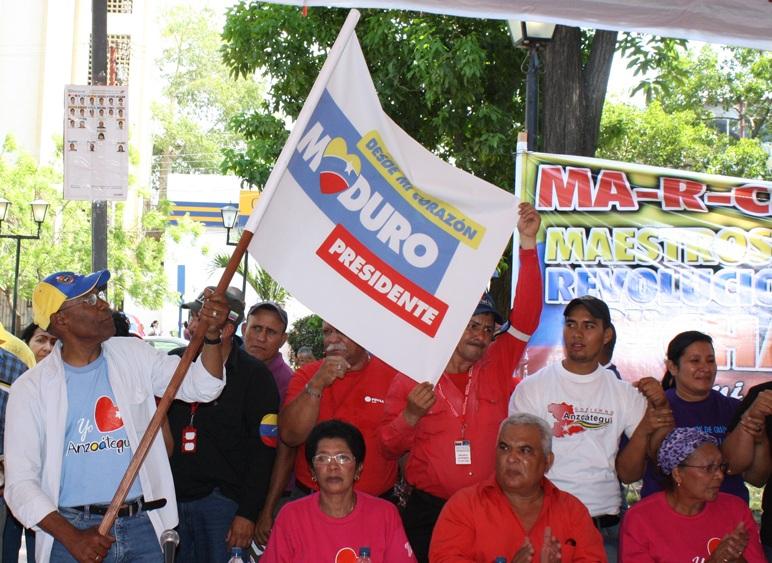 abanderamiento en anzoategui-Fidel Ernesto Vasquez