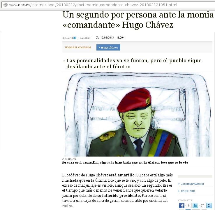 Diario ABC de España-Fidel Ernesto Vasquez