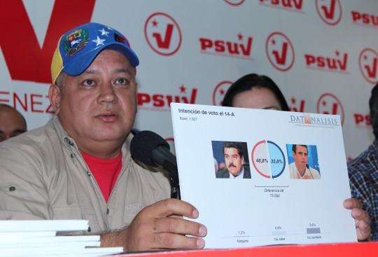 Diosdado Cabello Rondon- 2-Fidel Ernesto Vasquez