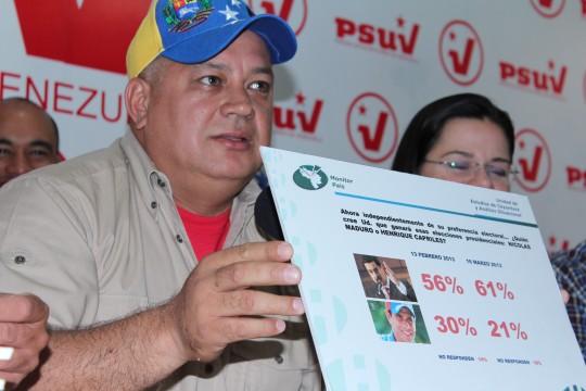 Diosdado Cabello Rondon-Fidel Ernesto Vasquez