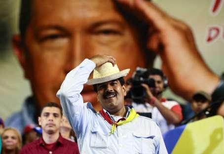 Nicolas Maduro-Fidel Ernesto Vasquez