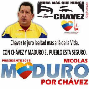 Nicolas Maduro Presidente-Fidel Ernesto Vasquez I.