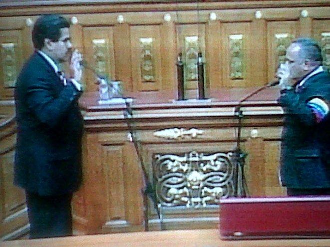 Nicolas presidente-Fidel Ernesto Vasquez