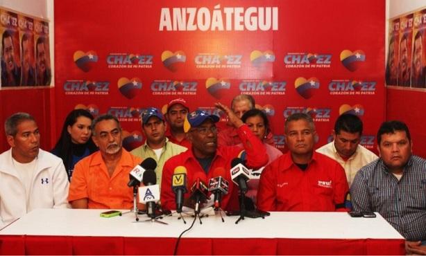 PSUV-Anzoategui-Fidel Ernesto Vasquez