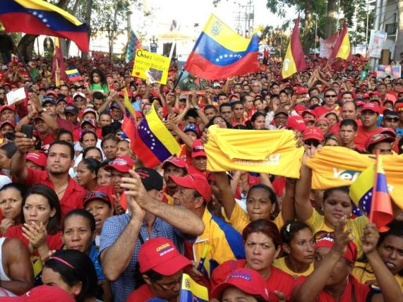 respaldo a Nicolas Maduro-Fidel Ernesto Vasquez
