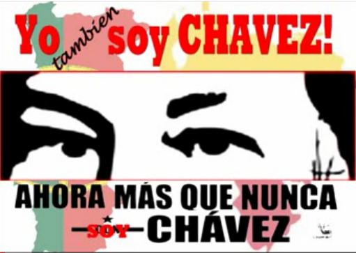 Yo soy Chavez-Fidel Ernesto Vasquez