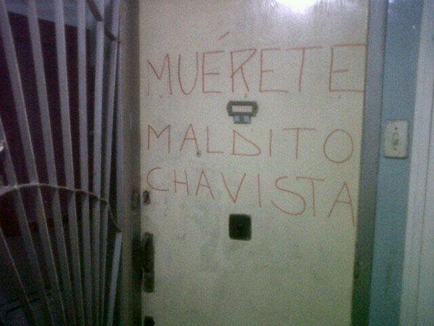acoso a chavistas-Fidel Ernesto Vasquez