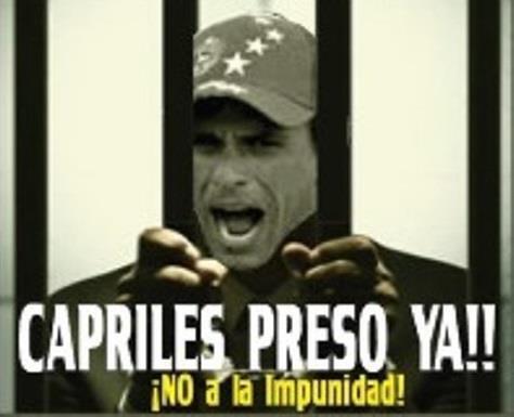 Capriles R. fascista-Fidel Ernesto Vasquez