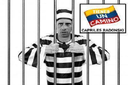 Capriles tiene un camino-Fidel Ernesto Vasquez