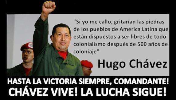 Comandante Supremo Hugo Chavez-Fidel Ernesto Vasquez