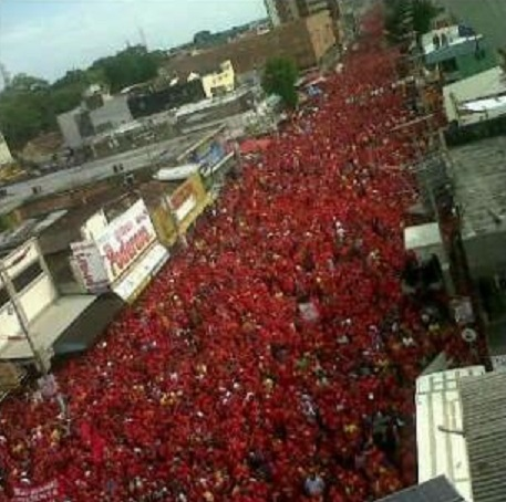 Marea Roja en Falcon-Fidel Ernesto Vasquez