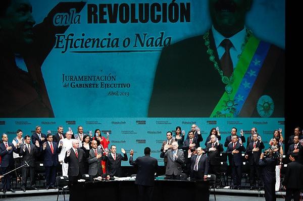 Ministros-Fidel Ernesto Vasquez