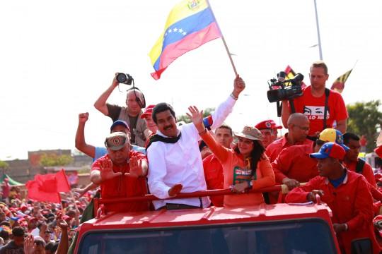 Nicolas en Sucre-Fidel Ernesto Vasuez