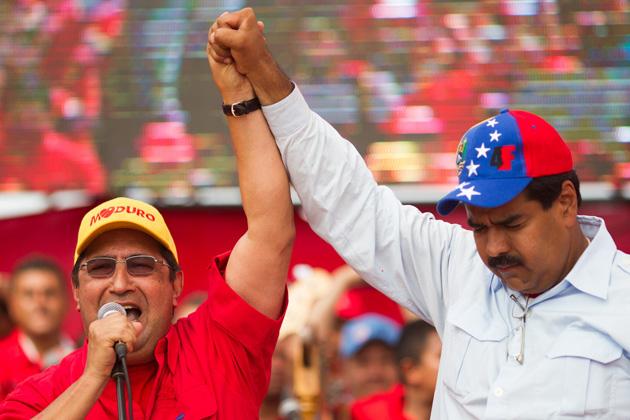 Nicolas Maduro-Adan Chavez-Fidel ERnesto Vasquez