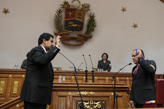 Nicolas Maduro-Diosdado Cabelo-Fidel Ernesto Vasquez