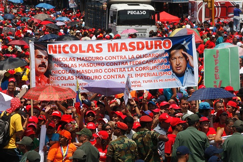 Nicolas Maduro en Aragua-2-Fidel Ernesto Vasquez