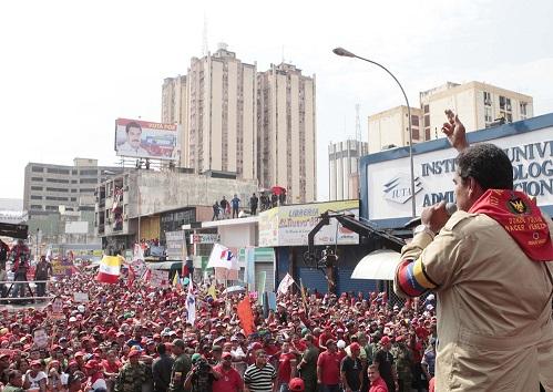 Nicolas Maduro en Aragua-Fidel Ernesto Vasquez