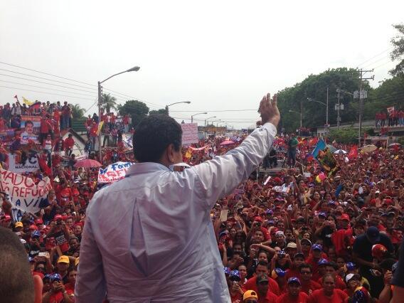 Nicolas Maduro en Barinas-Fidel Ernesto Vasquez