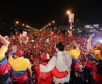 Nicolas Maduro en caracas-Fidel Ernesto Vasquez