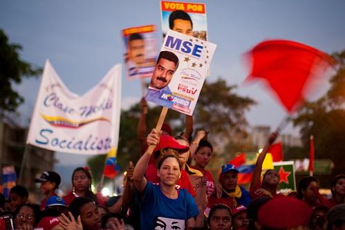 CAMPA—A ELECTORAL DE NICOL¡S MADURO EN VENEZUELA