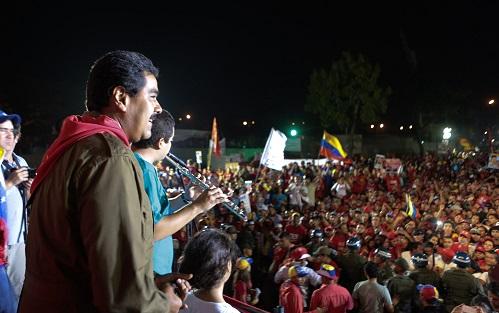Nicolas Maduro en El Valle-Fidel Ernesto Vasquez