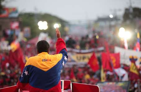 Nicolas Maduroen el zulia-Fidel Ernesto Vasquez