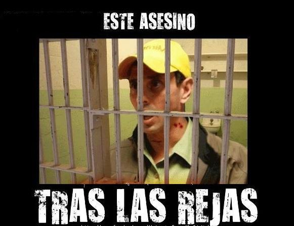 Capriles a la reja-Fidel Ernesto Vasquez