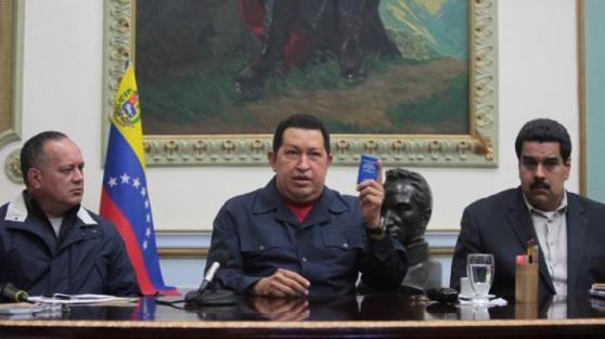 Comandante Hugo Chavez-Diosdado-Nicolas-Fidel Ernesto Vasquez