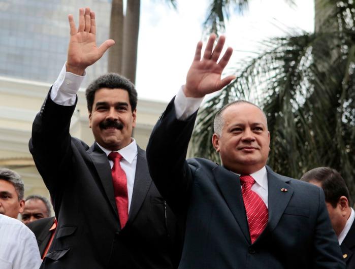 Diosdado Cabello-Nicolas Maduro-Fidel Ernesto Vasquez