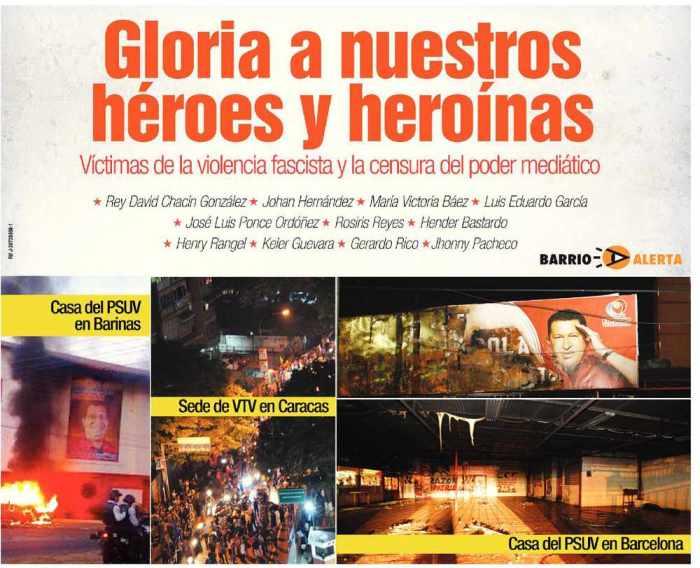 Gloria a nuestros heroes y heroinas-Fidel Ernesto Vasquez
