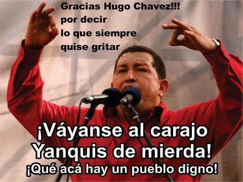 Gracias Comandante-Fidel Ernesto Vasquez