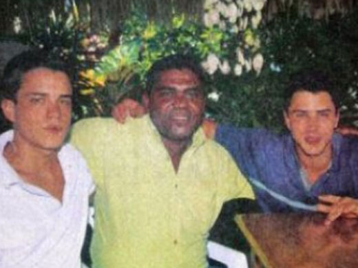 Hijos de Alvaro Uribe-Fidel Ernesto Vasquez