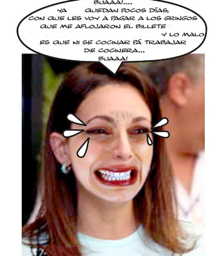 Maria Corina Machado llorona-Fidel Ernesto Vasquez