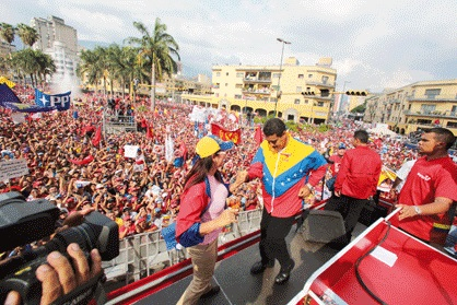 Nicolas Maduro 1 de mayo 2013-Fidel Ernesto Vasquez