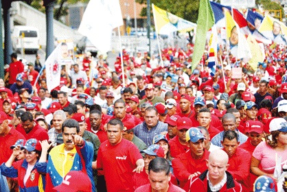 Nicolas Maduro 1 de mayo-Fidel Ernesto Vasquez