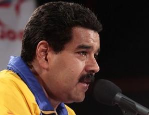 Nicolas-Maduro-Fidel Ernesto Vasquez