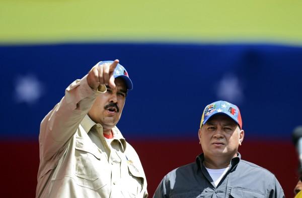Nicolas Mduro-Diosdado Cabello-Fidel Ernesto Vasquez