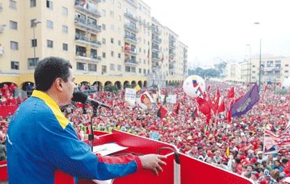 Presidente Nicolas Maduro 1 de mayo 2013-Fidel Ernesto Vasquez