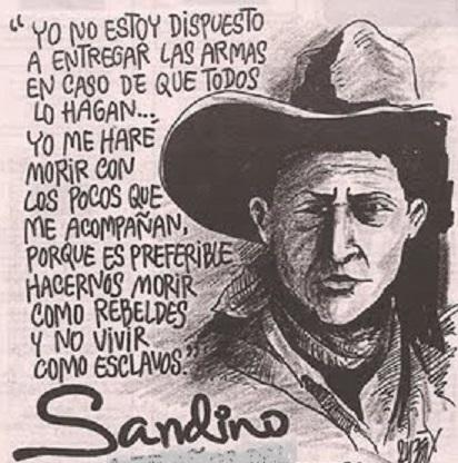sandino-Fidel Ernesto Vasquez
