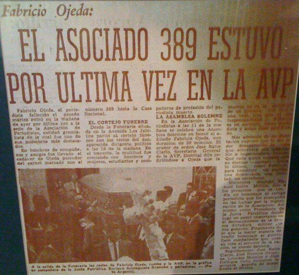 Fabricio Ojeda por siempre-Fidel Ernesto Vasquez