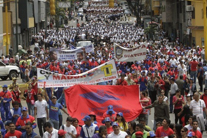 marcha contra paro de fapuv-Fidel Ernesto Vasquez