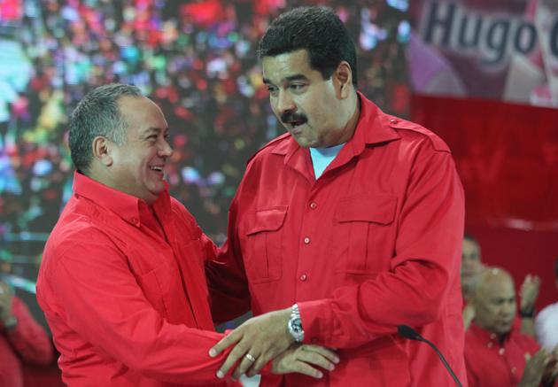 Nicolas Maduro-Diosdado Cabello-Fidel Ernesto Vasquez